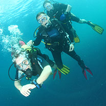 discover scuba in subic bay