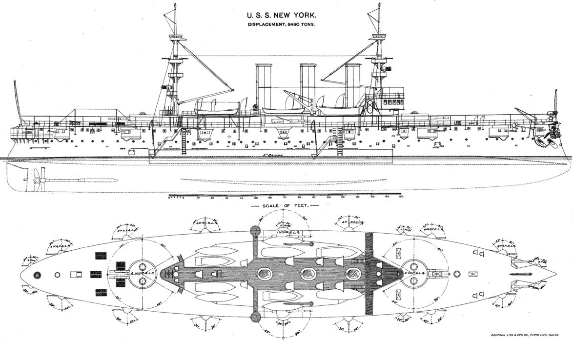 uss new york diagram uss new york dive site - camayan divers