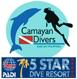 camayan divers padi 5 star resort